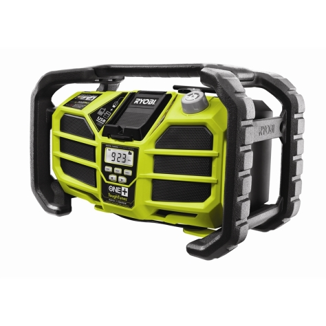 Ryobi FM radio with iPhone Dock